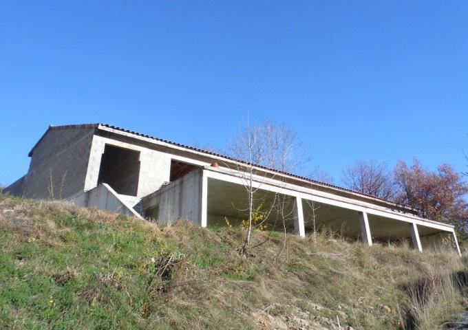 Vente la souche maison a finir de 160 m2 sur terrain de for Maison a finir